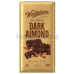 Whittaker's Block Dark Almond 200gm