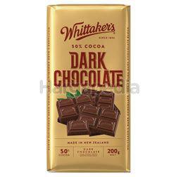 Whittaker's Block Dark Chocolate 200gm