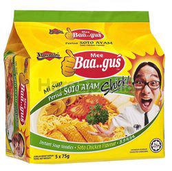 Ibumie Bagus Instant Noodle Soto Ayam 5x75gm