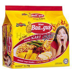 Ibumie Bagus Instant Noodle Kari Ayam 5x75gm
