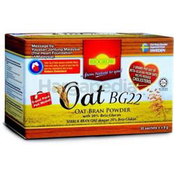 Biogrow Oat Bran Powder BG22 30x9gm