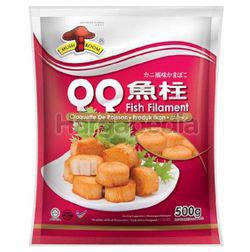 Mushroom QQ Fish Filament 500gm