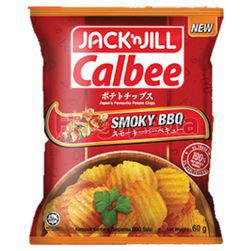 Jack N Jill Calbee Smoky BBQ 60gm