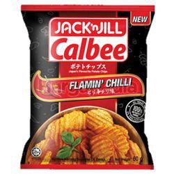 Jack N Jill Calbee Flamin Chilli 60gm