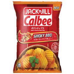 Jack N Jill Calbee Smoky BBQ 170gm
