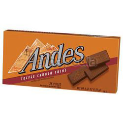Andes Chocolate Toffee Crunch Thins 132gm