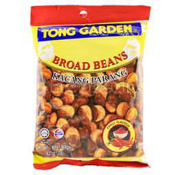 Tong Garden Broad Beans Chilli Flavour 120gm