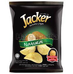 Jacker Potato Chips Natural 60gm