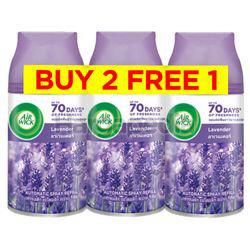 Air Wick Freshmatic Automatic Spray Refill Lavender (2+1)x250ml
