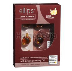 Ellips Hair Vitamin With Ginseng & Honey 12s