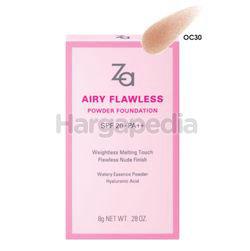 Za Airy Flawless Powder Foundation OC02 1s