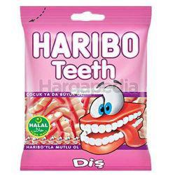 Haribo Teeth Gummy 80gm