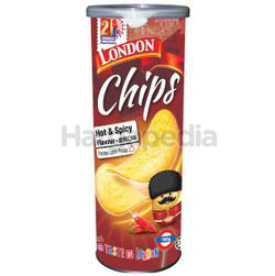 London Potato Chips Hot & Spicy Flavour 160gm