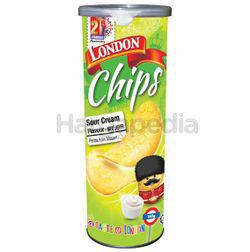 London Potato Chips Sour Cream Flavour 160gm