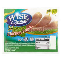 Wise Choice Honey Chicken Frankfurter 340gm