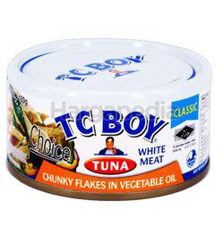 TC Boy Tuna Chunky Flakes in Vegetable Oil 150gm