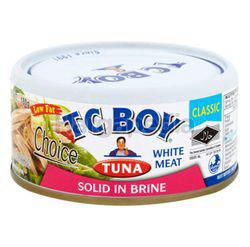 TC Boy Tuna In Solid White Meat Brine 150gm