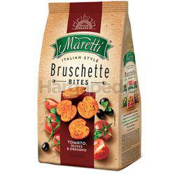 Bruschette Maretti Tomato, Olives and Oregano Snacks 70gm
