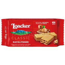 Loacker Classic Wafer Napolitaner 45gm