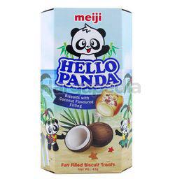 Meiji Hello Panda Coconut Coated Biscuit 43gm