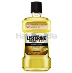 Listerine Gum Care Less Intense Herbal Ginger Mouth Rinse 250ml
