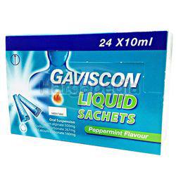 Gaviscon Original Liquid Sachets 24x10ml