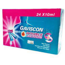 Gaviscon Double Action 24x10ml