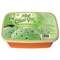 King's Ice Cream Mint Choc Chip 1.2lit