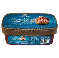 King's Grand Caramel Almond Fudge Ice Cream 1lit