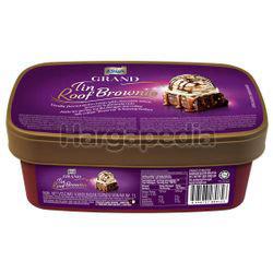 King's Grand Tin Roof Brownie Ice Cream 1lit