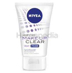 Nivea Acne Care Make Up Clear 3in1 Foam 100gm