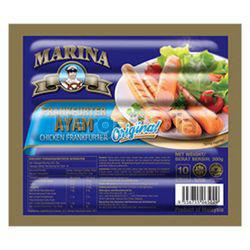Marina Chicken Frankfurter Original 300gm