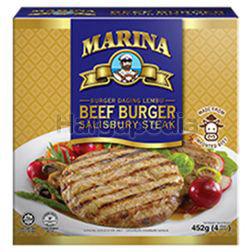 Marina Beef Burger Salisbury Steak 452gm