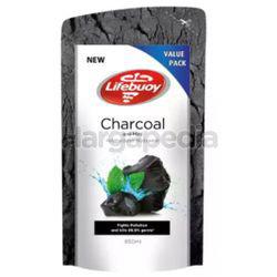 Lifebuoy Body Wash Refill Charcoal Mint 850ml