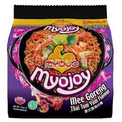 Myojo Mee Goreng Thai Tom Yam 5x77gm