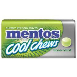Mentos Cool Chews Lime Mint 38gm