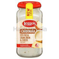 Leggo's Carbonara Fresh Cream Onion & Cheese Pasta Sauce 490gm