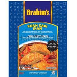 Brahim's Fish Curry Sauce 180gm