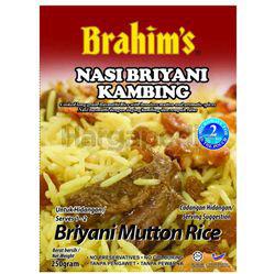 Brahim's Briyani Mutton Rice 250gm
