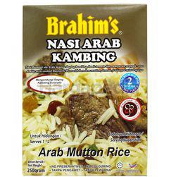 Brahim's Arab Mutton Rice 250gm