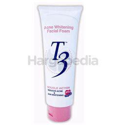 T3 Acne Whitening Facial Foam 100ml