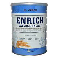Biogreen Enrich Oatmilk Energy 850gm