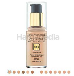 Max Factor Facefinity 3in1 Foundation 1s