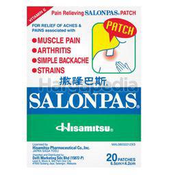 Salonpas Pain Relieving Patch 20s