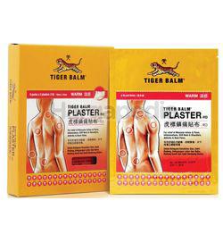 Tiger Balm Medicated Plaster Warm 6x2s