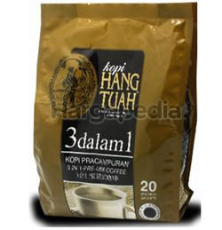 Hang Tuah 3in1 Pre-mix Coffee 20x20gm
