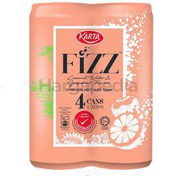Karta Fizz Sparkling Fruit Juice Drink 4x325ml