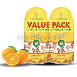 Air Wick Freshmatic Automatic Spray Refill Tangerine Blossom 2x250ml