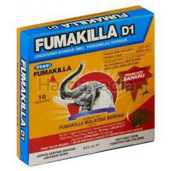 Fumakilla D1 Coil 10s
