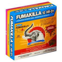 Fumakilla 12HR-D1 Coil 20s